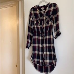 Lucky Brand Flannel Style Dress